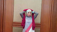Hijab Tutorial @aliahsayuti Edisi Lebaran #6