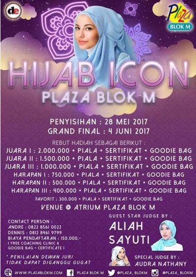 HIJAB ICON Plaza Blok M Pada 28 Mei 2017